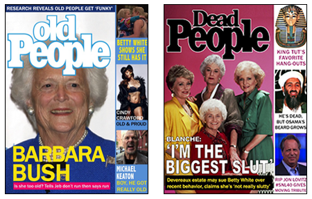 People Launches Old, Dead People