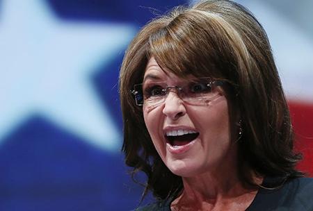 Palin protests