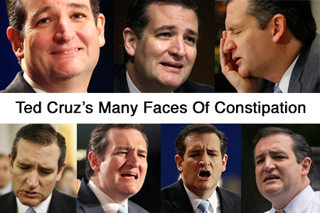 Ted Cruz Constipation