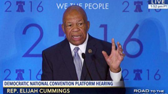Congressman Elijah E. Cummings, D-Md.