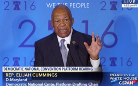 Congressman Elijah E. Cummings, D-Md.