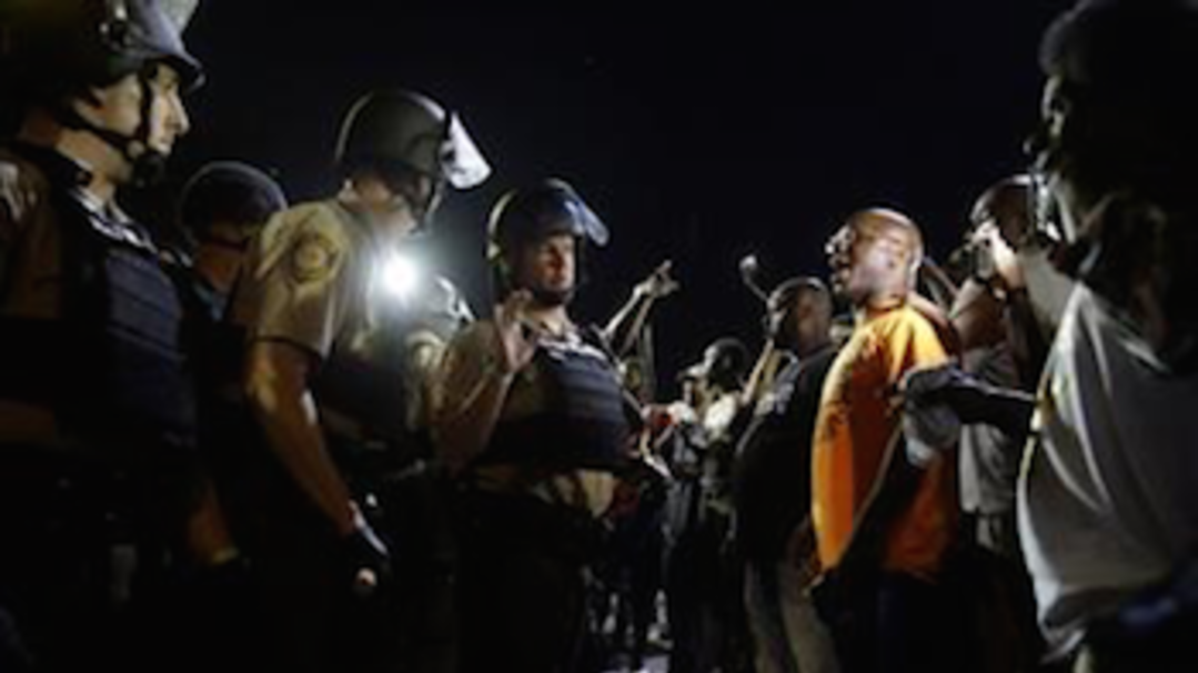 Ferguson Unrest Cools Down