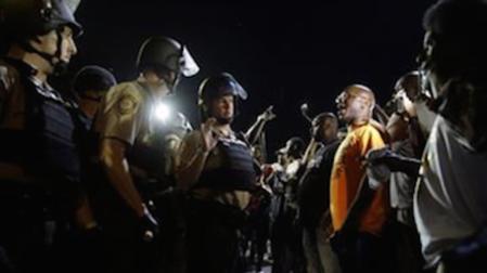 Ferguson Unrest Cools Down