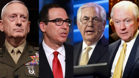 Mainly White Men with Poor Civil Rights Records to Lead Trump Gov