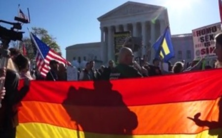 States must treat gay couples the same as heterosexuals.