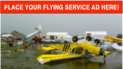 Flying service ads